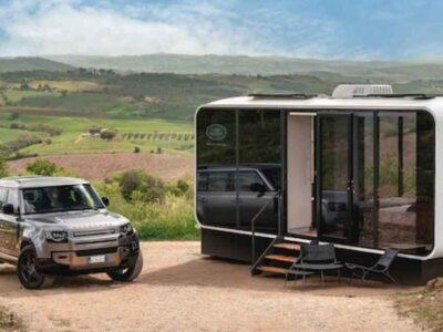 Defender Eco Home: la «roulotte» Land Rover ecosostenibile ed ecologica